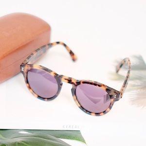 Illesteva 'Leonard' 48mm Sunglasses—Turquoise